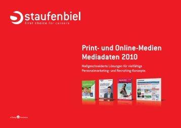 Media-Daten 2010 - Staufenbiel