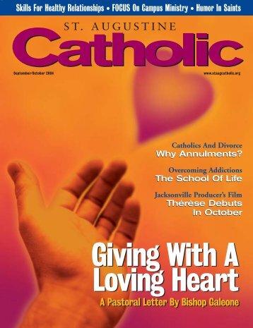 A Pastoral Letter By Bishop Galeone A Pastoral Letter By Bishop ...