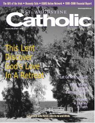 This Lent Discover God's Love In A Retreat - St. Augustine Catholic