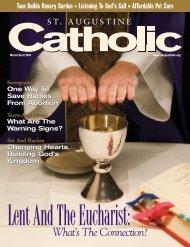 Lent And The Eucharist - St. Augustine Catholic