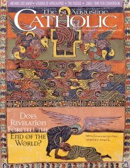 December 1999/January 2000 - St. Augustine Catholic