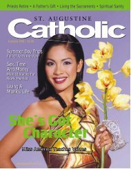 June/July - St. Augustine Catholic
