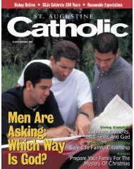 October/November - St. Augustine Catholic