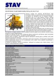 MINI BETONARA S PLANETARNOM MJEäALICOM tip MF-250-CTP ...