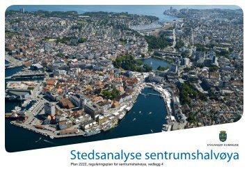 Stedsanalyse sentrumshalvøya - Stavanger kommune