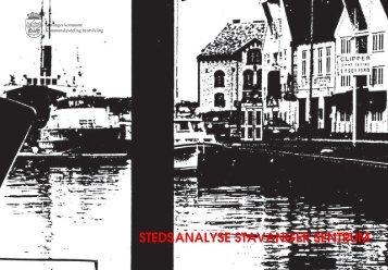 STEDSANALYSE STAVANGER SENTRUM - Stavanger kommune