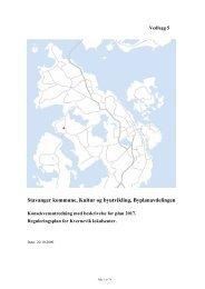 Konsekvensutredning - Stavanger kommune