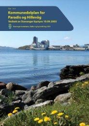 Kommunedelplan Paradis - Hillevåg - Stavanger kommune