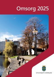 Omsorg 2025 (pdf) - Stavanger kommune