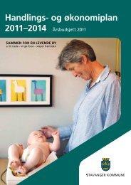 Handlings- og økonomiplan 2011-2014 - Stavanger kommune