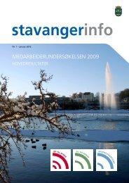 StavangerInfo nr. 1 2010 - Stavanger kommune
