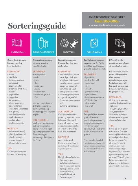 Sorteringsguide Stavanger Kommune