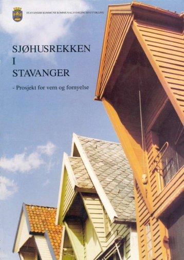 Sjøhusrekken i Stavangers - Stavanger kommune