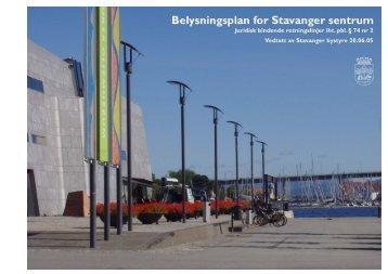 Belysningsplan - Stavanger kommune