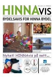 Nyhet! HINNAvis på nettside 9 - Stavanger kommune