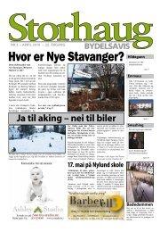 Storhaug bydelsavis 2 - Stavanger kommune