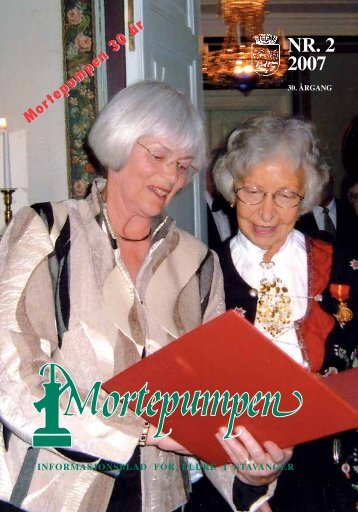 Mortepumpen nr. 2 2007 - Stavanger kommune