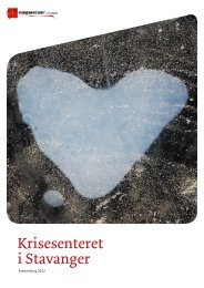 Årsmelding Krisesenteret - Stavanger kommune