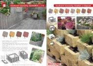 Betonové svahovky, tvarovky - Katalog - STAVOMARKET