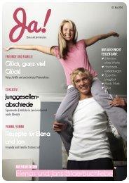 Ja-Worte Hochzeitsmagazine - Beispielheft