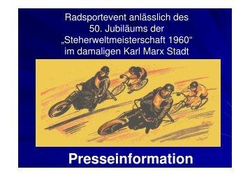 50 Jahre Steherweltmeisterschaft - Stayer.de