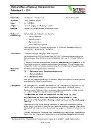 Talentiade 1 - Schwäbischer Turnerbund