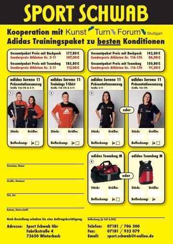 Adidas Trainingspakete