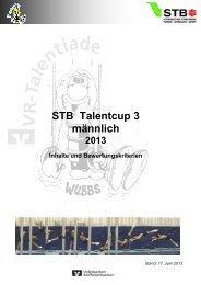 (STB-Talentcup 3 männlich)