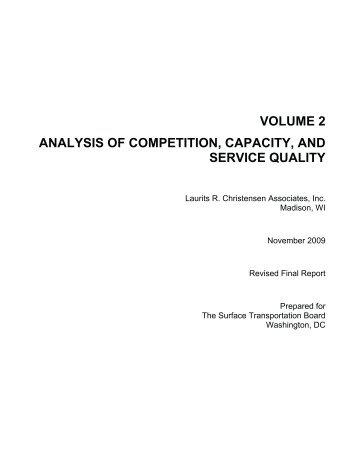 Volume 2 - Surface Transportation Board