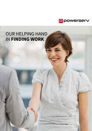 Our helping hand in FINDING WORK