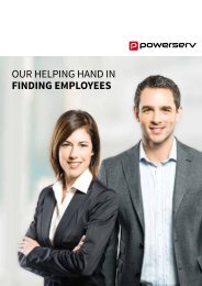 Our helping hand in FINDING EMPLOYEES