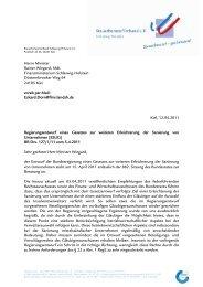 (ESUG) BR Drs. 127/1 - Steuerberaterverband Schleswig-Holstein e.V.