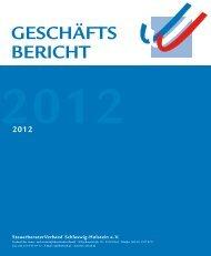 2012 - Steuerberaterverband Schleswig-Holstein