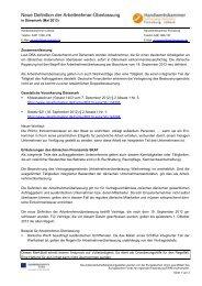 Neue Definition der Arbeitnehmer-Überlassung in Dänemark