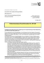 Kurzinfo FM SH zur Behandlung des Repowering bei ...