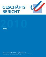 2010 - Steuerberaterverband Schleswig-Holstein