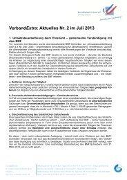VerbandExtra 07-02/2013 - Steuerberaterverband Schleswig-Holstein
