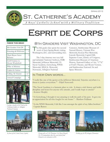 Esprit de Corps - St. Catherine's Academy