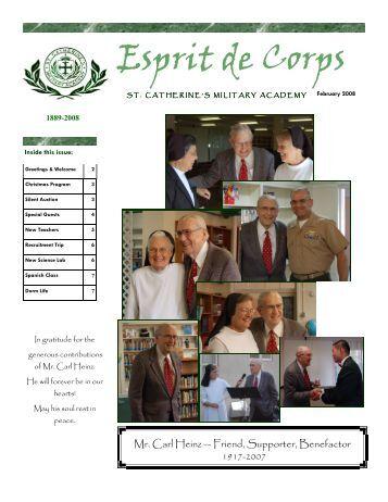 SCMA Newsletter Jan 2008 - St. Catherine's Academy