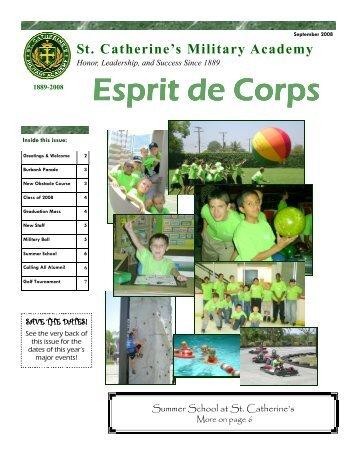 Esprit de Corps Esprit de Corps - St. Catherine's Academy