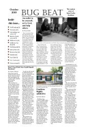 Inside this issue... - St. Cecilia Academy