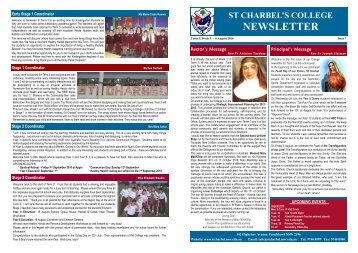 PDF Newsletter (Issue 7) - St Charbel's College