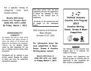Printable brochure - St. Cloud VA Health Care System
