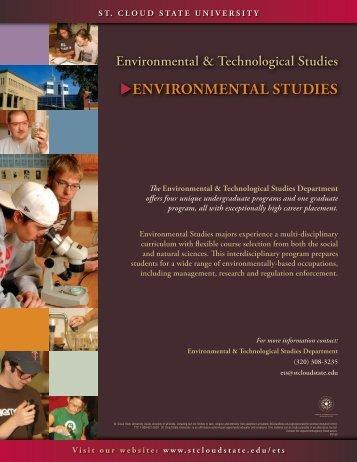 EnvironmEntal StudiES - St. Cloud State University