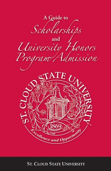 Scholarships - St. Cloud State University
