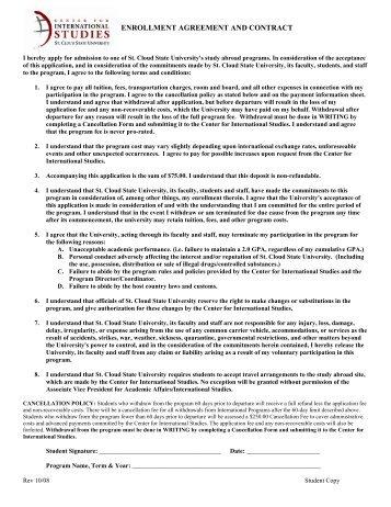 Enrolment Form And Waiver Agreement Saba