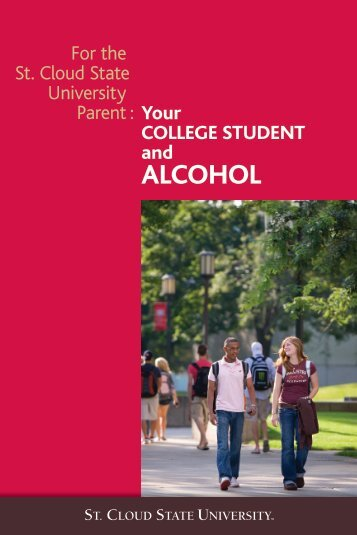 Your COLLEGE STUDENT And ALCOHOL - St. Cloud State University