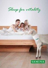 Sleep for vitality