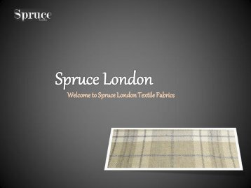 Contract Fabric - Spruce London