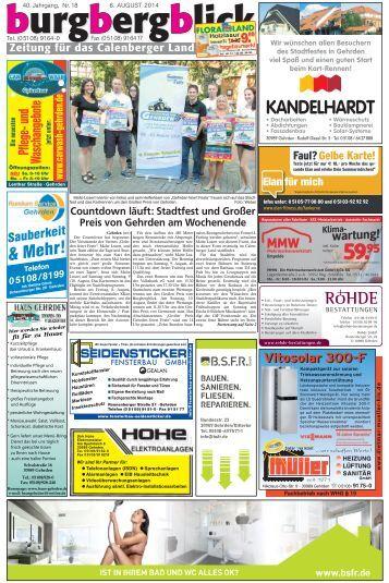 burgbergblick Nr. 18, 2014